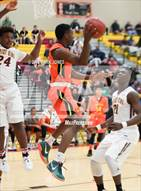 This MaxPreps.com professional photo is from the gallery Corona del Sol vs. Christ the King (Hoophall West Invitational) which features Corona del Sol high school athletes playing  Basketball.