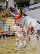 This MaxPreps.com professional photo is from the gallery Cathedral Catholic vs. Canyon Crest Academy which features Cathedral Catholic high school athletes playing  Volleyball.
