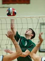 This MaxPreps.com professional photo features Enfield high school Kevin Camidge playing Boys Volleyball. This photo was shot by Ken Rutt and published on Rutt.