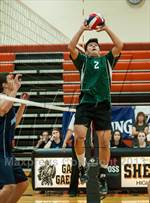 This MaxPreps.com professional photo features Enfield high school Jason Xiong playing Boys Volleyball. This photo was shot by Ken Rutt and published on Rutt.