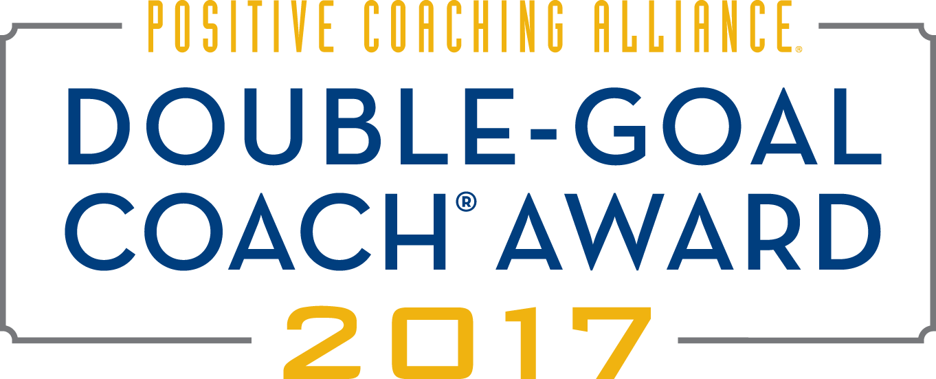 Positive Coaching Alliance | Double - Goal Coach Award 2017